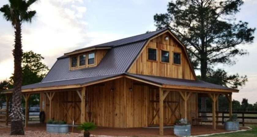 Bobbs Open Sided Pole Barn Plans