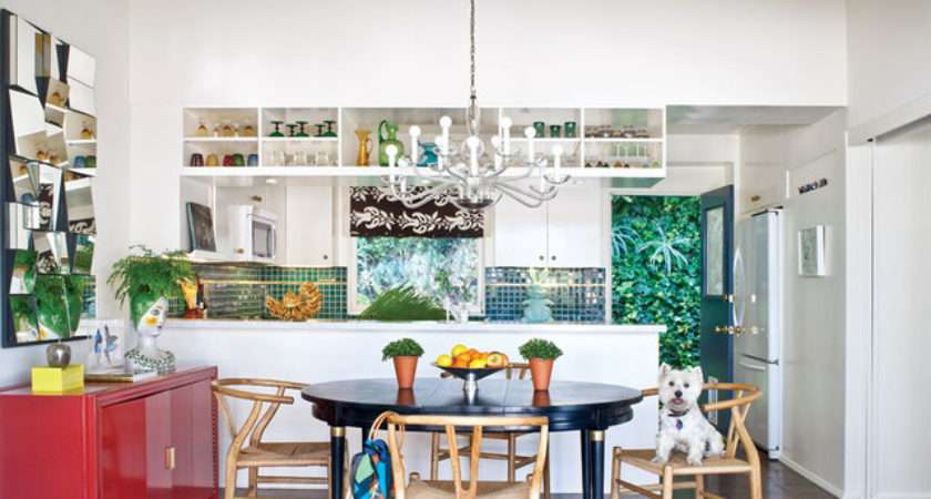 Bold Colorful Kitchen Eclectic San