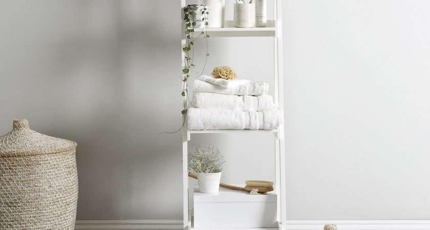 Book Bathroom Storage Ladder Spain James