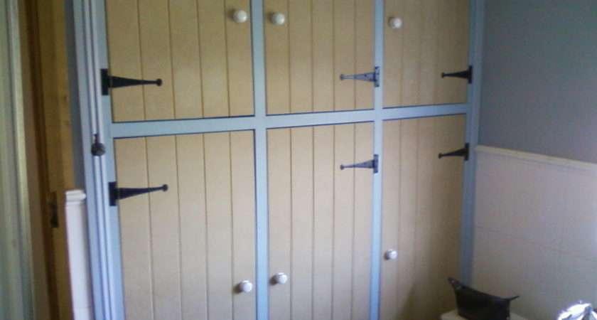 Bookshelf Airing Cupboard Doors