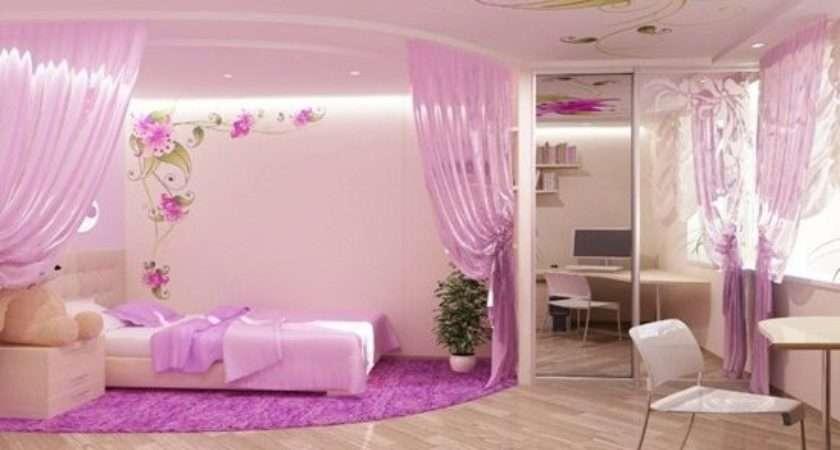 Border Teenage Girls Bedroom Interior Design