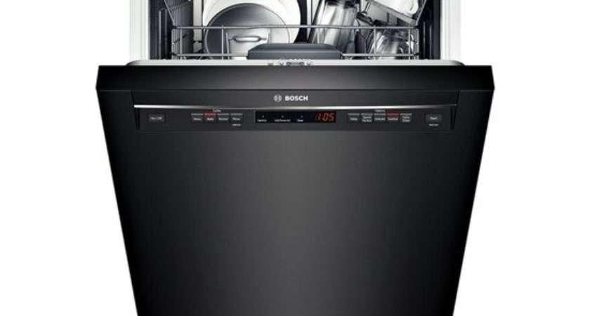 Bosch Recessed Handle Dishwasher Series Black