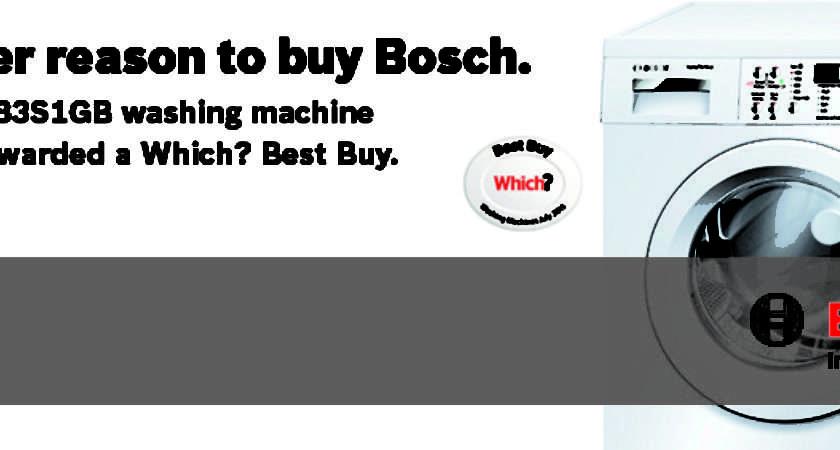 Bosch Waq Washing Machine Rpm