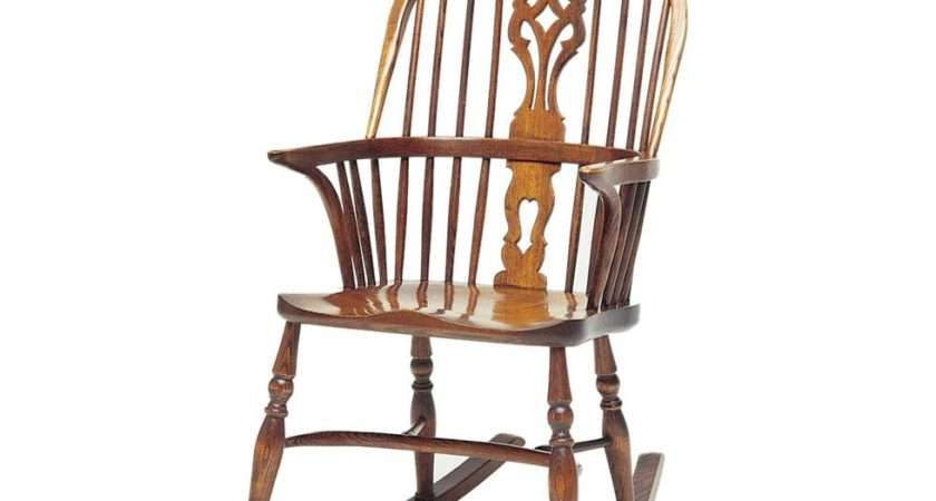 Bow Windsor Rocking Chairs Very Relaxing Made Ash Chair