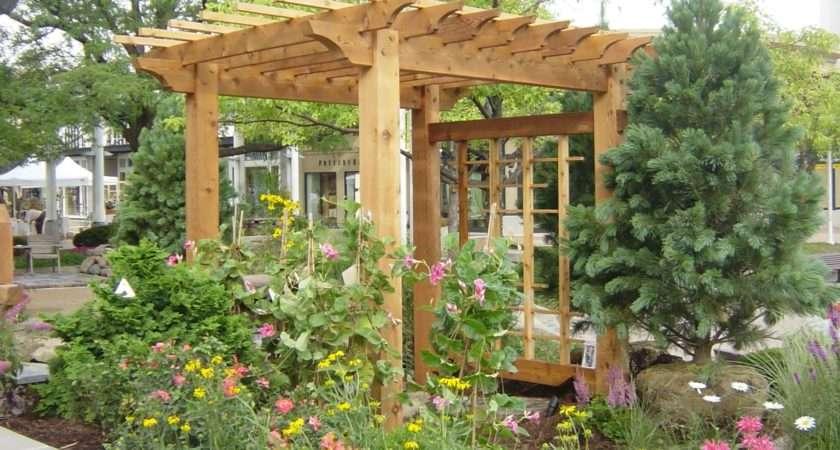 Bower Woods Llc Custom Garden Structures Rustic Pergolas