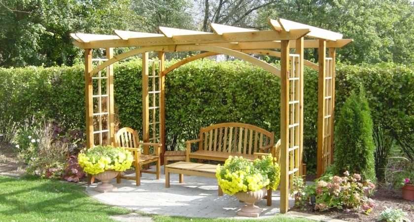 Bower Woods Llc Custom Garden Structures Traditional Pergolas