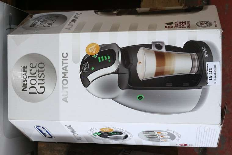 Boxed Delonghi Nescafe Dolce Gusto Cappuccino Coffee Maker