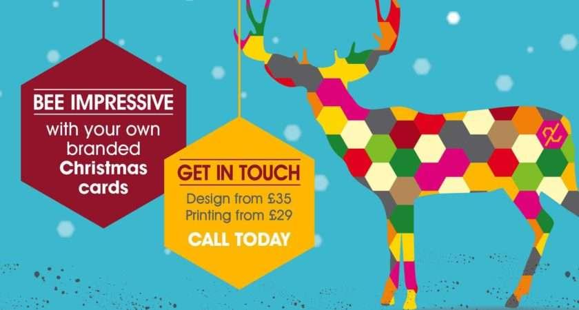 Branded Company Christmas Cards Design Printing