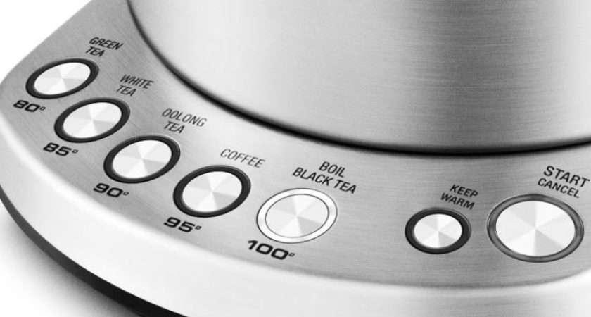 Breville Ltr Quiet Boil Smart Kettle Temperature Settings Bke