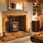 Brick Fireplace Designs Wood Burning Stoves