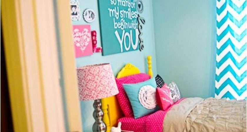 Bright Bedroom Design Your Teenage Girl Kidsomania