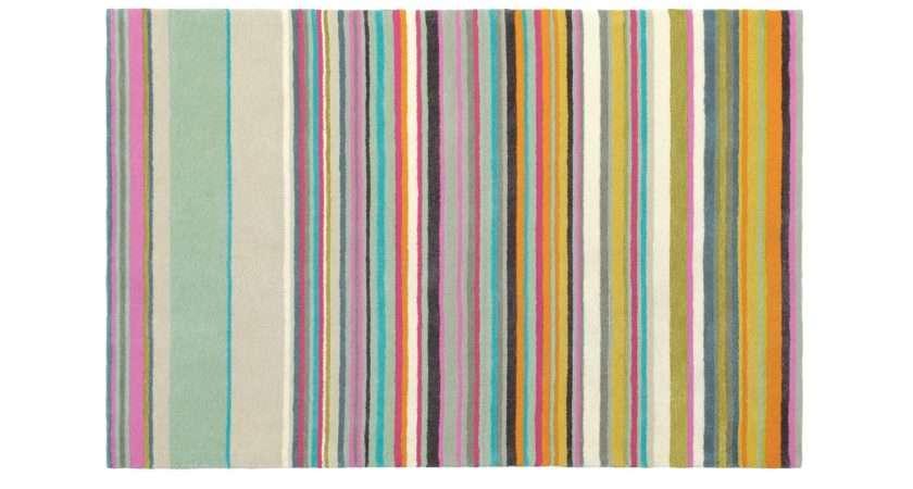 Bright Stripe Rug Rugs Ideas