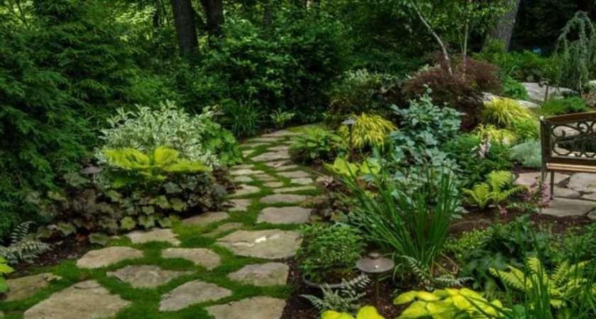 Brilliant Ideas Stone Pathways Your Garden