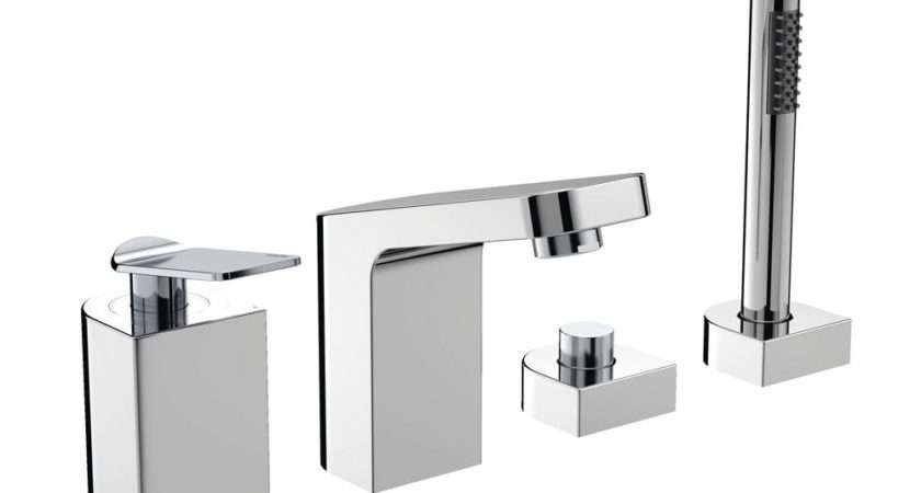 Bristan Alp Hbsm Tap Hole Bath Shower Mixer Chrome