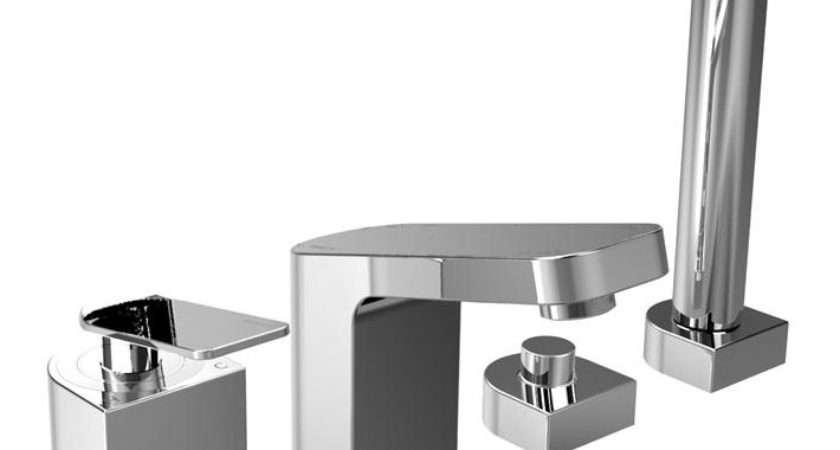 Bristan Alp Hole Bath Shower Mixer Tap Chrome Hbsm