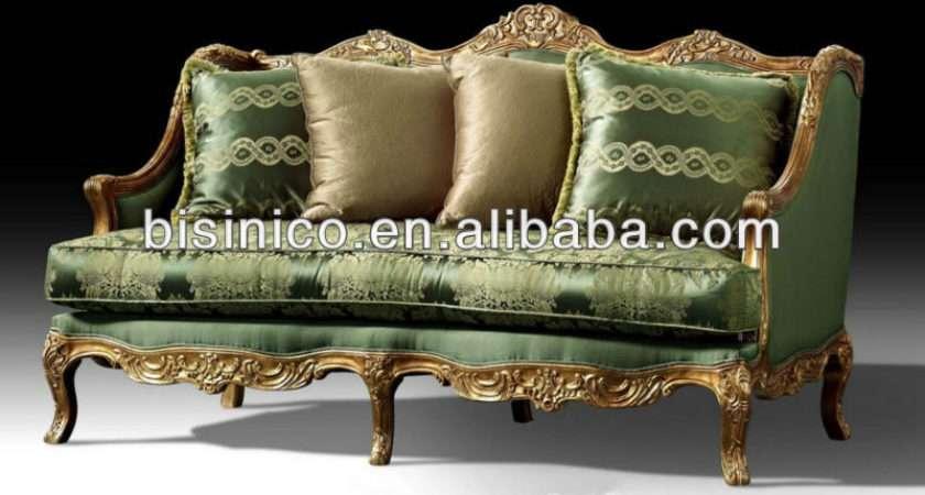 British Luxury Furniture Victorian Style Seater Sofa