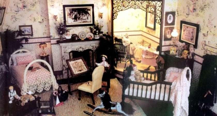 Brooke Tucker Victorian Nursery Dolls House Pinterest