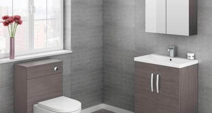 Brooklyn Cloakroom Suite Grey Avola Finish Victorian