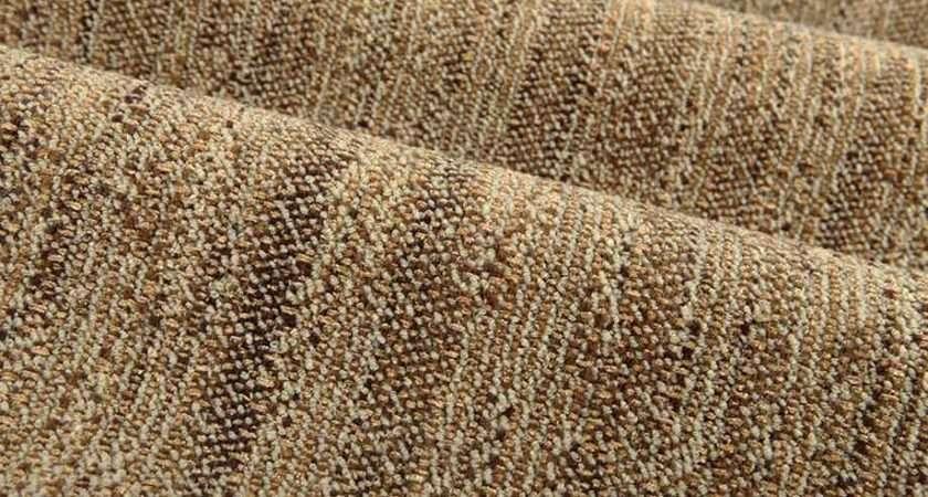 Broom Street Chenille Stripe Upholstery Fabric Tan
