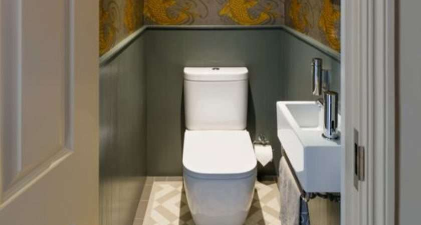 Brown Cloakroom Design Ideas Renovations Photos