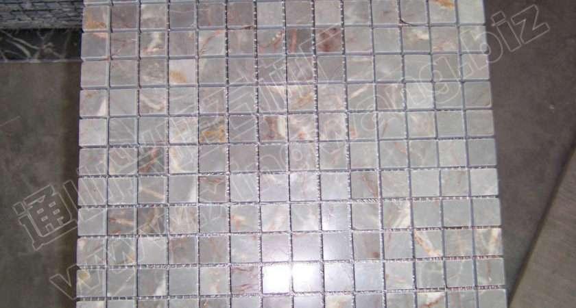Brown Marble Mosaics Tiles