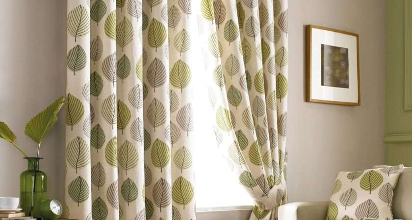 Brown Patterned Curtains Myideasbedroom