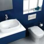 Brownand Blue Bathroom Designs Interiordecodir
