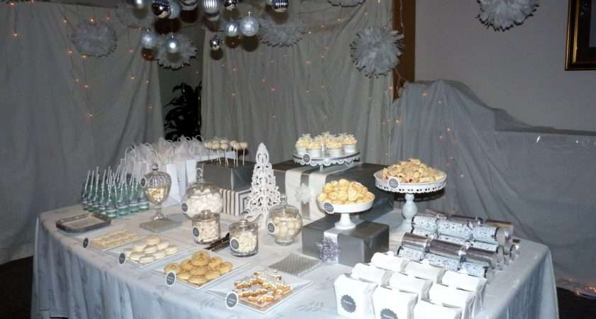 Bubble Sweet White Christmas Wonderland Party