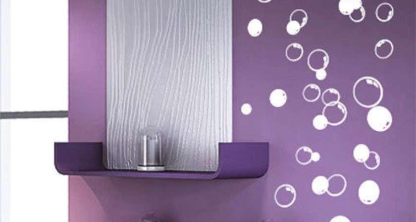 Bubbles Bathroom Window Shower Tile Wall Stickers