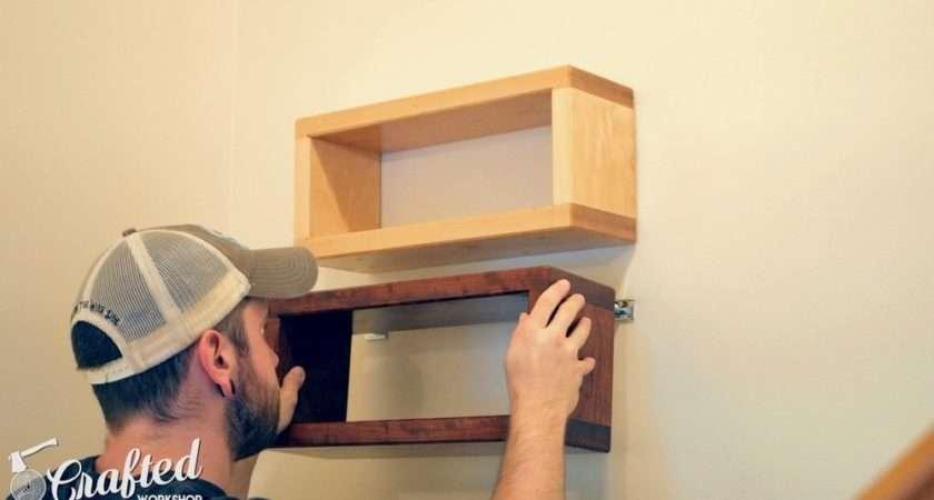 Build Diy Floating Shelf Invisible Hardware
