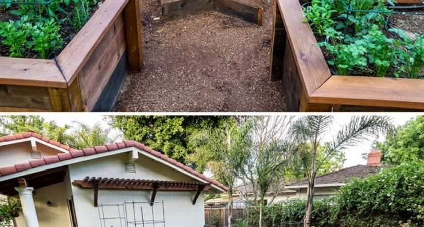 Build Shaped Raised Garden Bed Icreatived