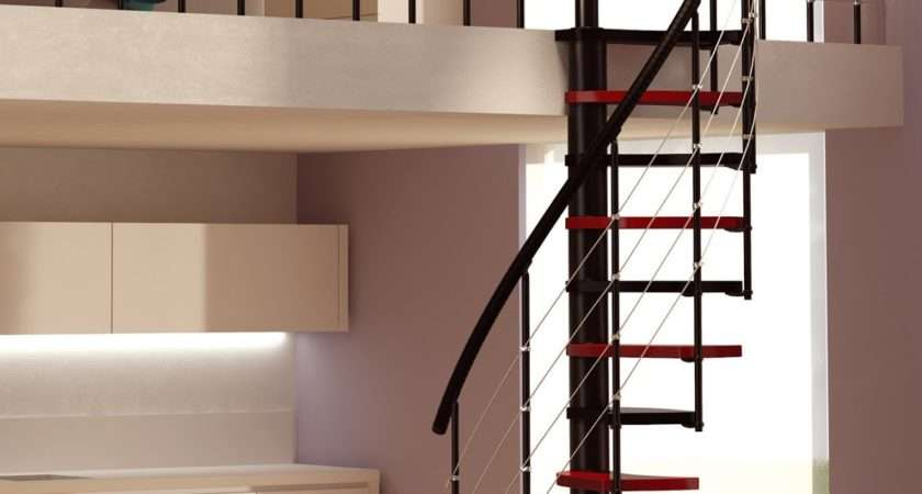 Build Small Spiral Staircase