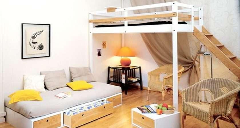 Building Loft Bed Teenage Girls Room Stroovi
