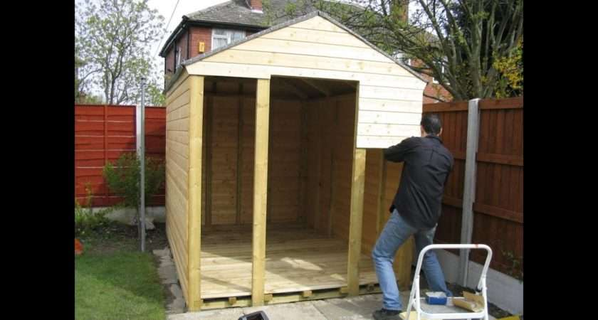 Building Shed Yourself Youtube