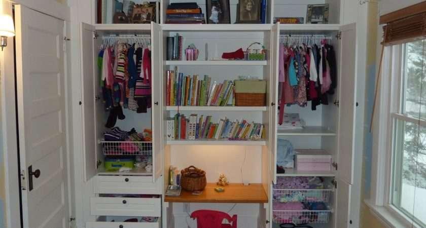 Built Wardrobe Closet Ikea Hackers