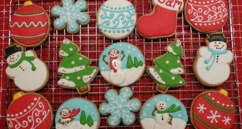 Bulbs Christmas Cookie Decorating Ideas Pinterest