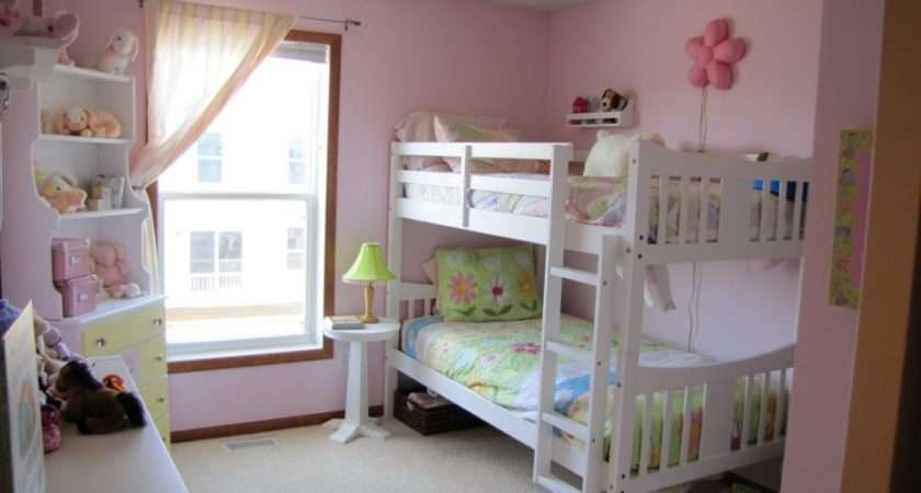 Bunk Beds Girls Room Design Ideas White