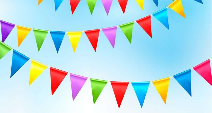 Bunting Flags One Stop Kids Party Shop