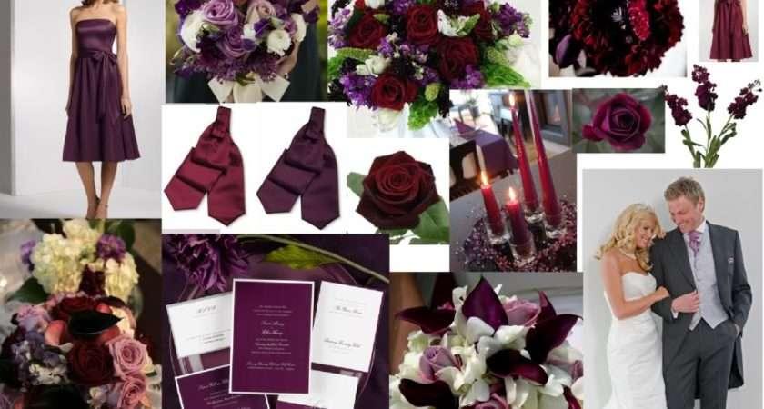 Burgundy Plum Wedding Ideas Pinterest