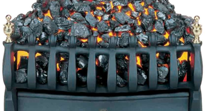 Burley Halstead Electric Fire Basket Flames