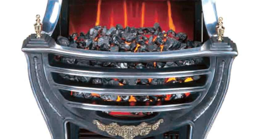 Burley Stamford Electric Fire Basket Flames