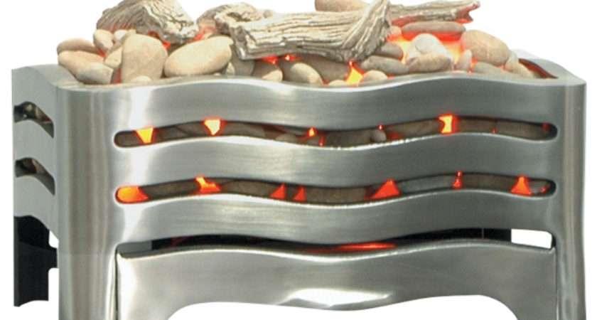Burley Waverley Electric Fire Basket Flames