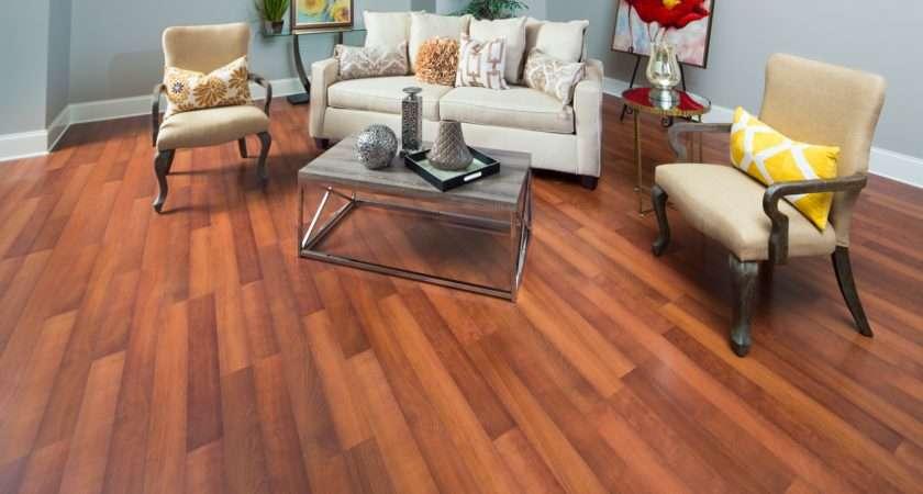 Burnt Orange Laminate Flooring