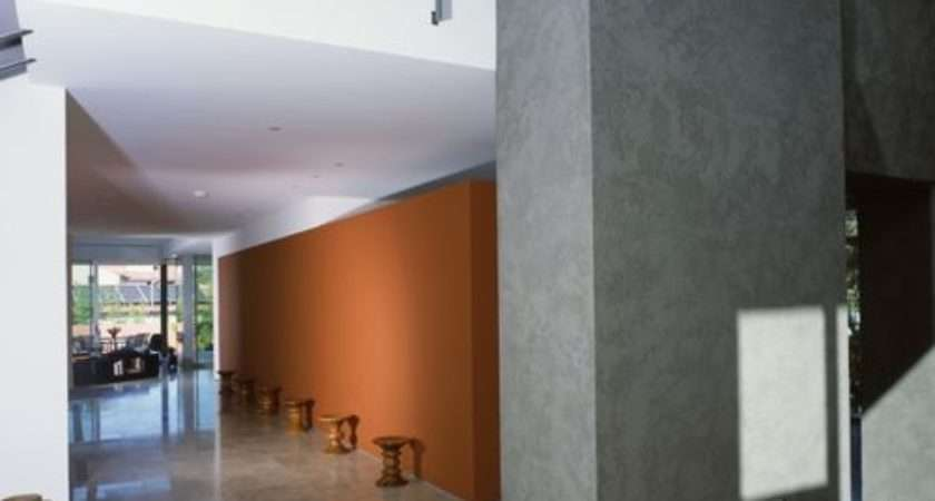 Burnt Orange Walls Home Design Ideas Remodel