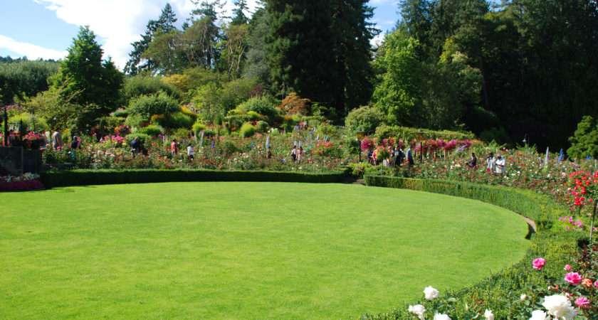 Butchart Gardens Rose Garden