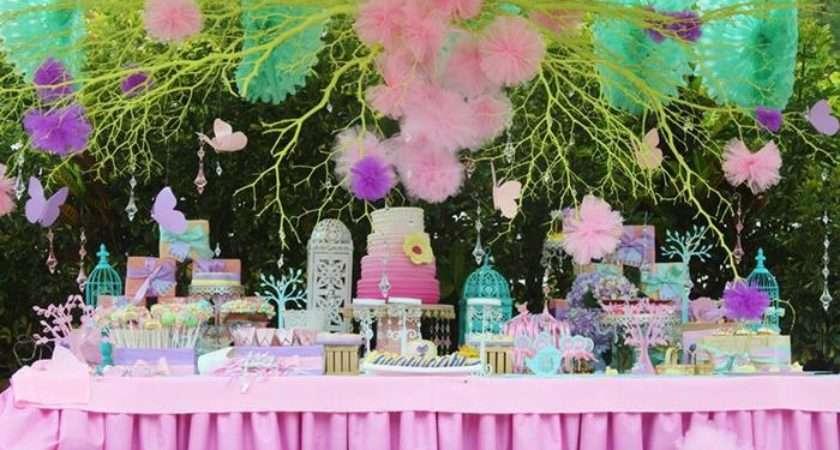 Butterfly Garden Party Such Cute Ideas Via Kara