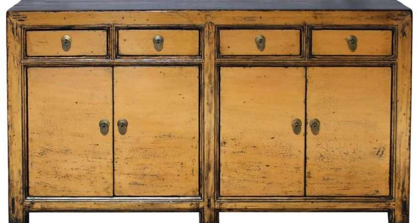 Butterscotch Yellow Sideboard Sale Stdibs