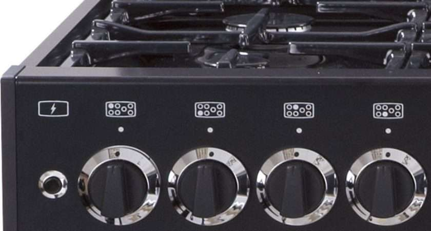 Buy Belling Classic Dft Black Dual Fuel Range