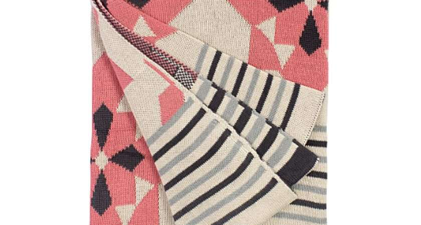 Buy Fab Habitat Ellesmere Pink Cotton Throw Blanket