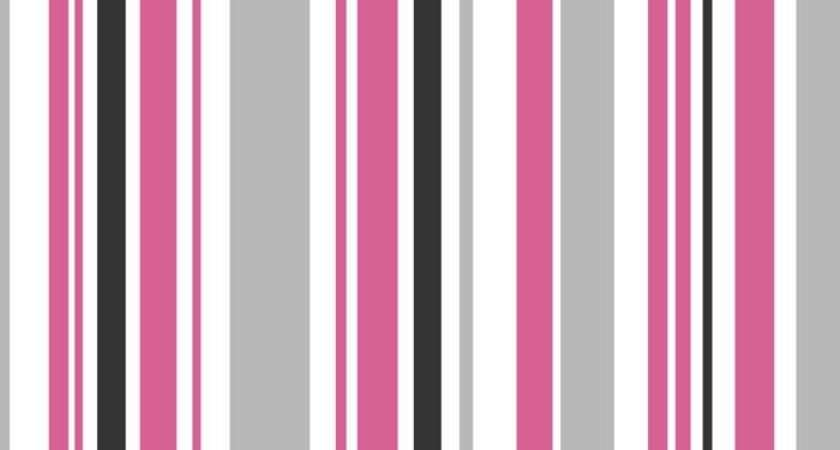 Buy Fine Decor Poppie Stripe Pink White